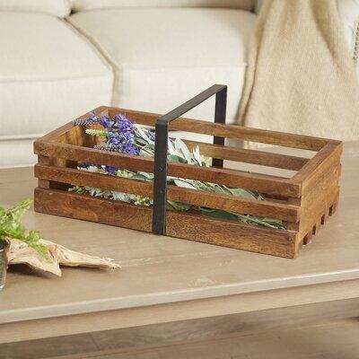 Wooden Gathering Basket