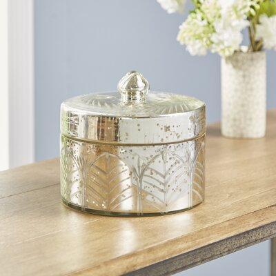 Gissing Mercury Glass Storage Jar