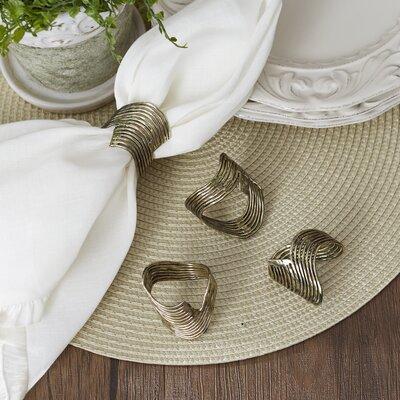 Silian Bronze Napkin Rings