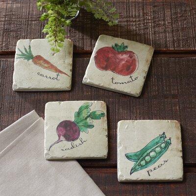 Veggie Garden Coasters
