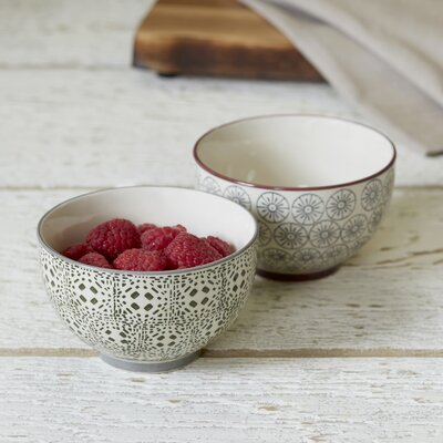 Fredonia 2-Piece Ceramic Bowl Set