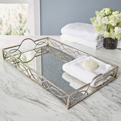 Wren Mirrored Tray