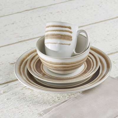 Romy Allfrey 16 Piece Dinnerware Set, Service for 4