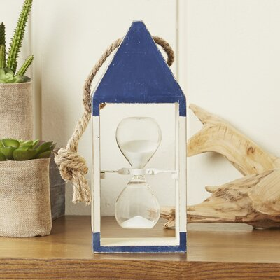 Buoy Hourglass Decor