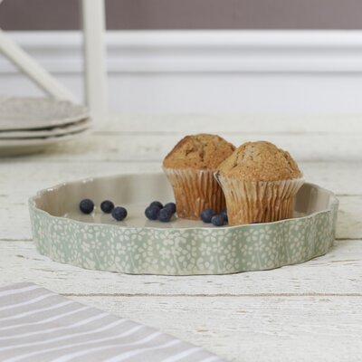 Queen Anne's Lace Ceramic Serving Platter
