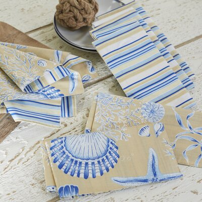 Nashe Seashell Napkins (Set of 6) BL18090 31630826