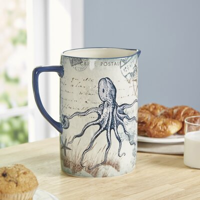 Ocean Antiquities 80 Oz Pitcher