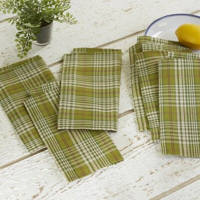 Upstreet Plaid Napkins (Set of 6)