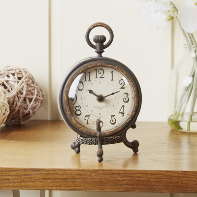 Eldernell Table Clock