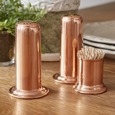 Mosby 3-Piece Salt & Pepper Shaker Set