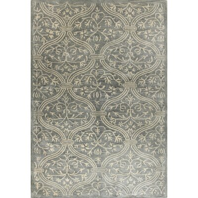 Oscar Slate Rug Rug Size: Rectangle 79 x 99
