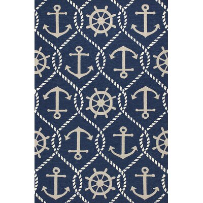 Harbor Shipyard Indoor/Outdoor Area Rug Rug Size: 76 x 96