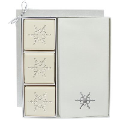 Snowflake Gift Set Color: Silver