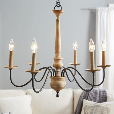 Edson 6-Light Candle-Style Chandelier