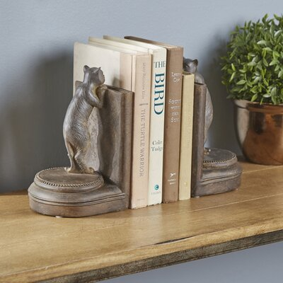 Curious Cats Bookends