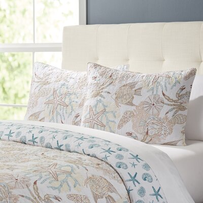Ocean View Quilt Set Size: Full/Queen