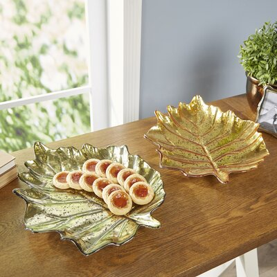 Maple Leaf Decorative Bowls