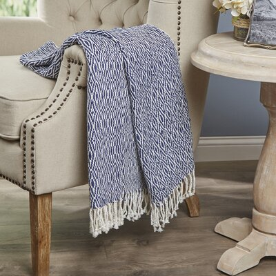 Dabney Throw Color: Blue