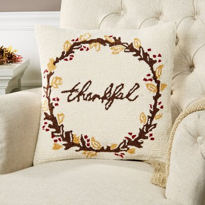 Thankful Harvest Pillow Cover