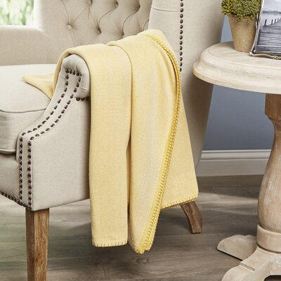 Hibbing Throw Color: Citron