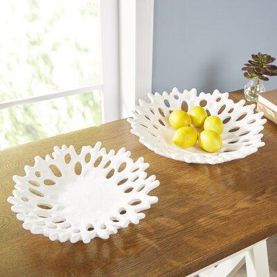 Birch Lane Coral Cutout Plates