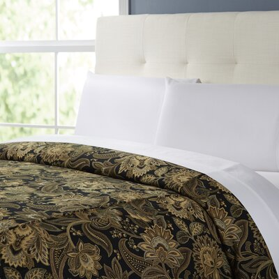 Jill Comforter Size: Daybed, Color: Black