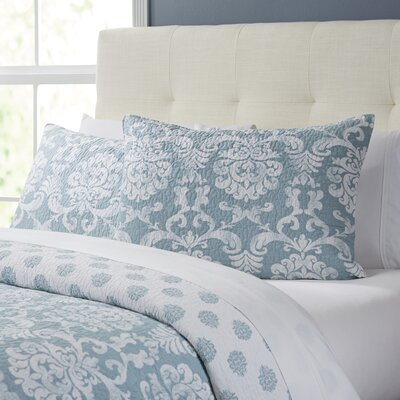 Berthold Quilt Size: King, Color: Chambray