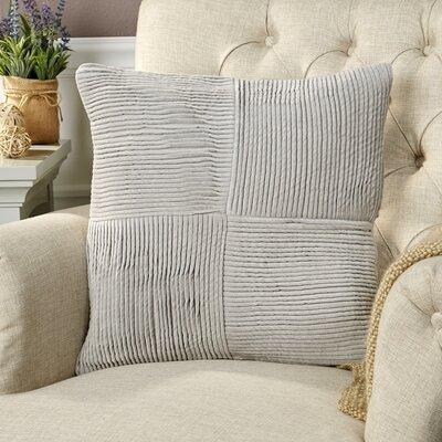 Ronstadt Pillow Cover Size: 22 H x 22 W x 0.25 D, Color: Gray