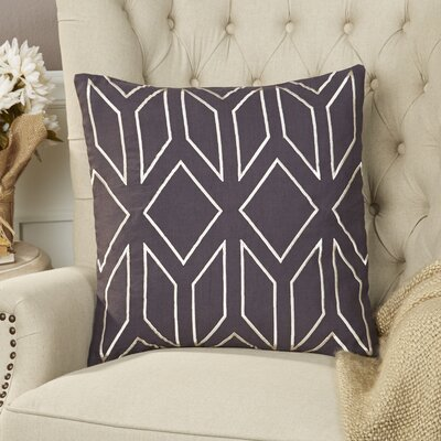 Tierney Linen Pillow Cover Size: 22