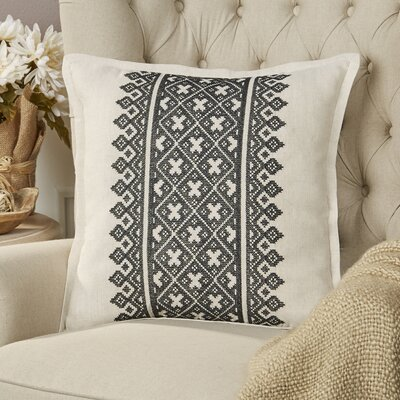 Killigrew Pillow Cover Size: 18 H x 18 W x 1 D, Color: Black