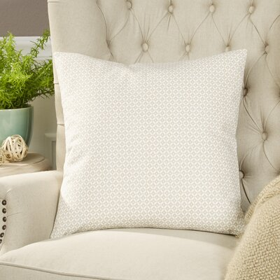 Booker Pillow Cover Color: Linen