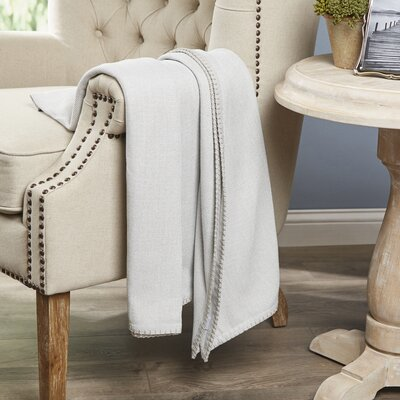 Hibbing Throw Color: Mist