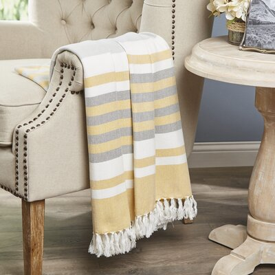 Sartell Throw Color: Citron