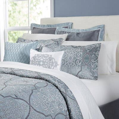 Roslindale 12-Piece Comforter Set Size: California King