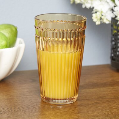 Burroughs Highball Glasses Color: Amber