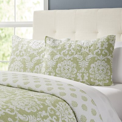 Berthold Quilt Size: King, Color: Cucumber