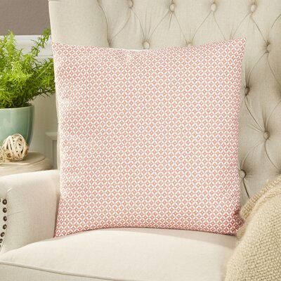Booker Pillow Cover Color: Blush
