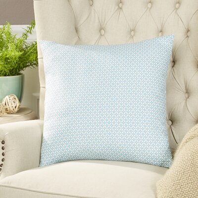 Booker Pillow Cover Color: Rain