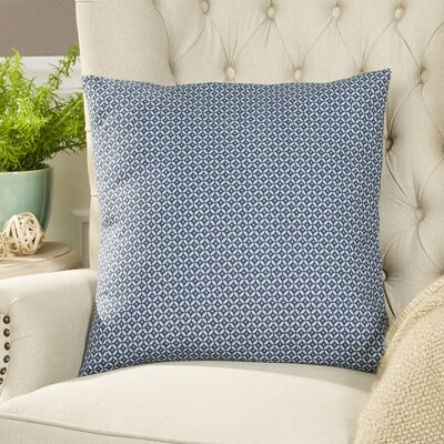 Booker Pillow Cover Color: Indigo