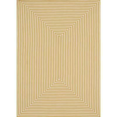 Marcelina Yellow Indoor/Outdoor Rug Rug Size: Rectangle 93 x 13