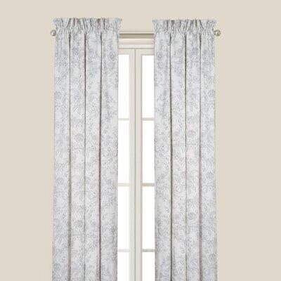 Karen Gray Single Curtain Panel