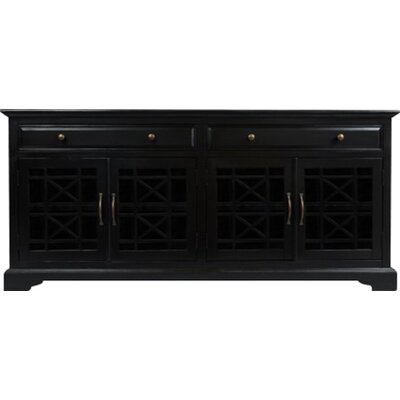 Hubert 70 TV Stand Color: Black