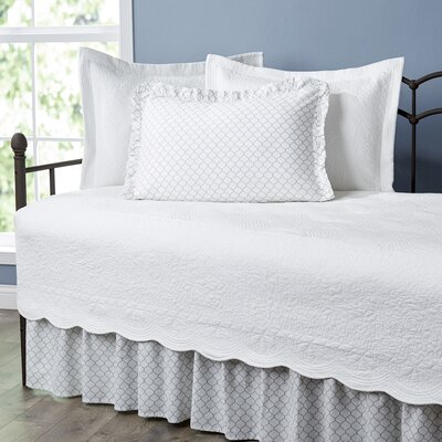 Annamae Ivory 5-Piece Daybed Quilt Set