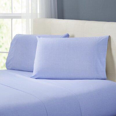 Kinney Sheet Set Color: Blue, Size: Queen