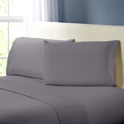 Rolette Sheet Set Color: Champagne, Size: Queen
