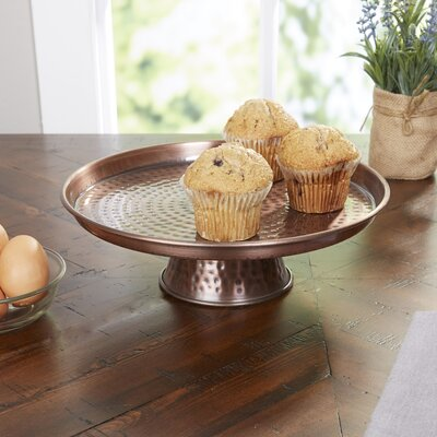 Tunstall Hammered Cake Stand