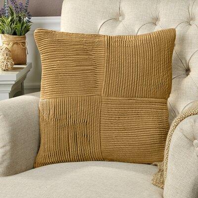 Ronstadt Pillow Cover Size: 18 H x 18 W x 0.25 D, Color: Orange