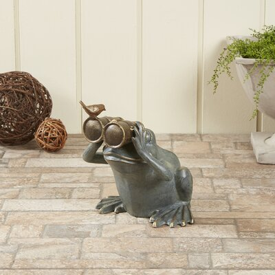 Spying Frog Statue