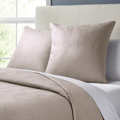 Colleen Quilt Size: King, Color: Light Taupe