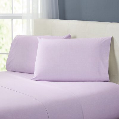 Kinney Sheet Set Color: Coral, Size: Twin